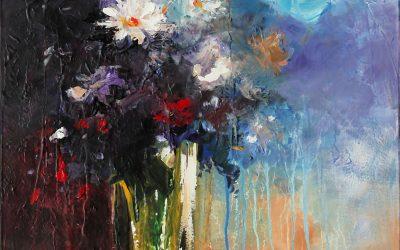 Acrílico - Flores 1