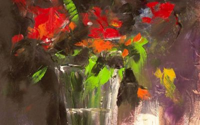 Acrílico - Flores 2