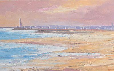Acrílico - 'Praias' (45 X 150)