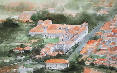 Aguarela - 'Arouca - Casario' (102 X 150)