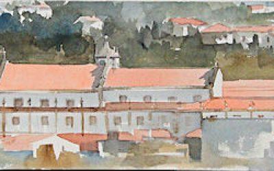 Aguarela - 'Arouca - Convento' (28 X 120)