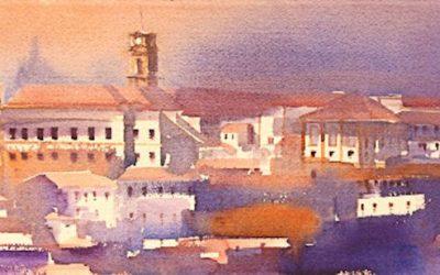 Aguarela - 'Coimbra' (28 X 76)