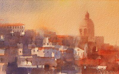 Aguarela - 'Lisboa' (26 X 102)