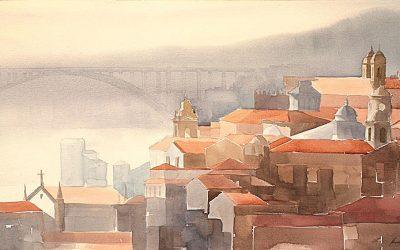 Aguarela - 'Porto' (76 X 102)