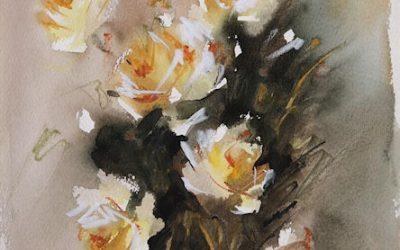 Aguarela - Rosas 1