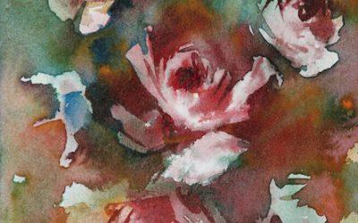 Aguarela - Rosas 2
