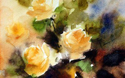 Aguarela - Rosas 4