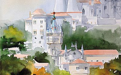 Aguarela - 'Sintra' (76 X 56)